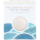 The Konjac Sponge Company The Elements Water Facial Sponge - 100% Pure White 30g