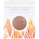 The Konjac Sponge Company The Elements Fire Facial Sponge - Purifying Volcanic Scoria 30 g
