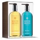 Molton Brown Lemon & Mandarin and Blue Maquis Hand Wash Set