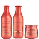 Trio de Shampooing, Soin et Masque Inforcer Serie Expert L'Oréal Professionnel Paris