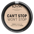 NYX Professional Makeup Can't Stop Won't Stop Powder Foundation Fair 10.7g