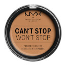 NYX Professional Makeup Can't Stop Won't Stop Powder Foundation Golden Honey 10.7g