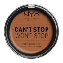 NYX Professional Makeup Can't Stop Won't Stop Powder Foundation Warm Caramel 10.7g