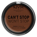 NYX Professional Makeup Can't Stop Won't Stop Powder Foundation Deep Walnut 10.7g