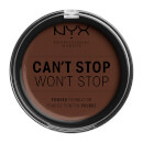 NYX Professional Makeup Can't Stop Won't Stop Powder Foundation Deep Espresso 10.7g