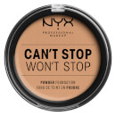 NYX Professional Makeup Can't Stop Won't Stop Powder Foundation Medium Olive 10.7g