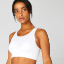 MP Women's Shape Seamless Ultra Sports Bra — White - XS