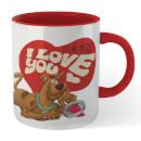 Scooby-Doo 'It's No Mystery I Love You' Mug