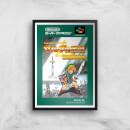 Retro Zelda Cover Art Print