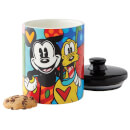 Disney Britto Pluto Canister Cookie Jar (Small) 16.5cm