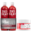 TIGI Bed Head Repair Shampoo, Conditioner and Hair Mask Set