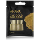 AHAVA Single Use 24K Gold Mineral Mud Mask 6ml