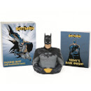 Batman Talking Bust And Illustrated Book