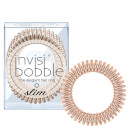 invisibobble Slim Elegant Hair Ties - Bronze (Pack of 3)