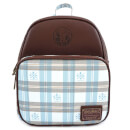 Loungefly Harry Potter Hogwarts Plaid Convertible Mini Backpack