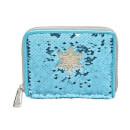 Loungefly Disney Frozen Elsa Reversible Sequin Wallet