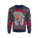 IWOOT Exclusive Boris Johnson Knitted Christmas Jumper