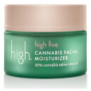High Beauty High Five Cannabis Facial Moisturizer 20% Cannabis Sativa Seed Oil 1.7 oz