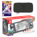 Nintendo Switch Lite (Grey) Fire Emblem: Three Houses Pack