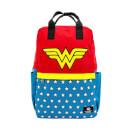 Loungefly DC Comics Dc Wonder Woman Vintage Nylon Square Backpack