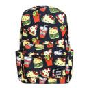 Loungefly Sanrio Hello Kitty Snacks Aop Nylon Backpack