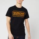Barbour International Men's Essential Large Logo T-Shirt - Black