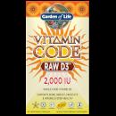 Vitamine Code Raw D3 2000 Iu - 60 capsules