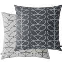 Orla Kiely Small Linear Stem Cushion - Grey