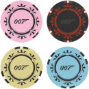 Casino Royale Poker Chip Coasters