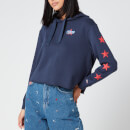 Tommy Jeans Women's Modern Logo Hoody - Twilight Navy