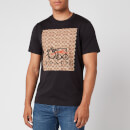 Coach Men's Abstract T-Shirt - Black