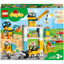 LEGO DUPLO Tower Crane & Construction Vehicle Toys (10933)