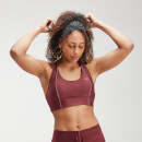 MP Women's Velocity Sports Bra- Claret - XXS