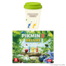 Pikmin 3 Deluxe - Coffee To Go Cup and Microfibre Cloth Set