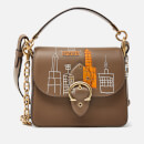 Coach 1941 Women's Coach X Basquiat Mecca Beat Shoulder Bag 18 - Elm