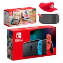 Nintendo Switch (Neon Blue/Neon Red) Mario Kart Live: Home Circuit - Mario Set Pack