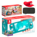 Nintendo Switch Lite (Turquoise) Mario Kart Live: Home Circuit - Mario Set Pack