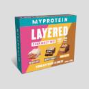 Ochutnávkové balenie tyčiniek Layered Bar - 3 Flavours