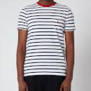 Polo Ralph Lauren Men's Striped Crewneck T-Shirt - White/French Navy