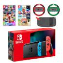 Nintendo Switch (Neon Blue/Neon Red) Mario Mega Pack