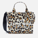 Marc Jacobs Women's Mini Leopard Traveler Tote Bag - Natural Multi