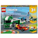LEGO Creator: 3 in 1 Race Car Transporter Building Set (31113)