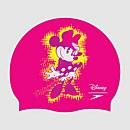 Bonnet de bain Enfant Minnie Mouse Slogan Imprimé Rose