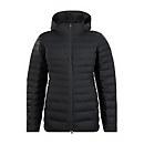Women's Long Hudsonian Down Insulated Jacket - Black