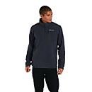 Men's Prism Micro Polertec Half Zip fleece - Dark Grey