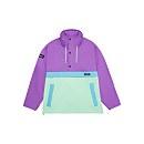 Unisex Ski Smock 86 Half Zip - Purple / Light Green