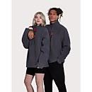 Unisex Prism Half Zip Fleece - Grey