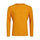 Men's 24/7 Long Sleeve Crew Base Layer - Yellow