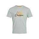 Men's Peak Fusion Grid T-Shirt - Grey