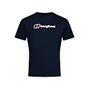Men's Organic Big Classic Logo T-Shirt - Blue